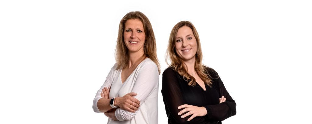 Datenschutzbeauftrage und Expertinnen für die Datenschutzgrundverordnung DSGVO Anne Köhler und Stefanie Beier
